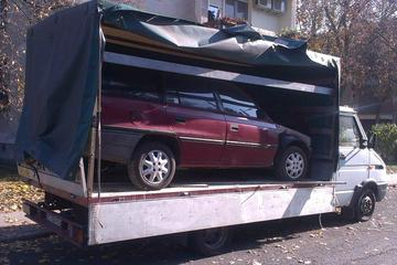 Ponyvás teherautó bérlés