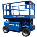 GENIE GS 3268 RT 4x4 Diesel - Bérelhető ollós emelőgép